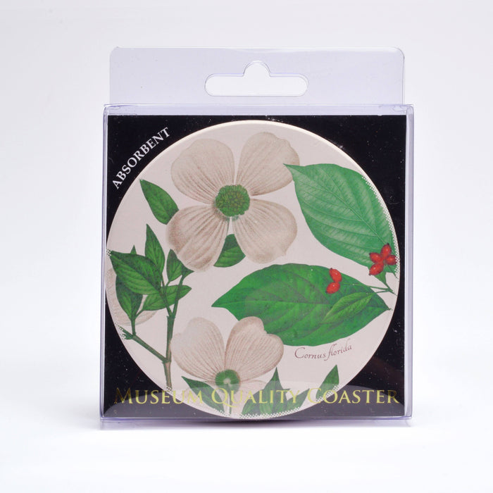 Botanical Dogwood Coaster - DESIGN MASTER ASSOCIATES - The Shops at Mount Vernon