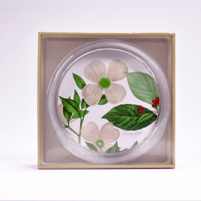 Botanical Dogwood Paperweight - DESIGN MASTER ASSOCIATES - The Shops at Mount Vernon