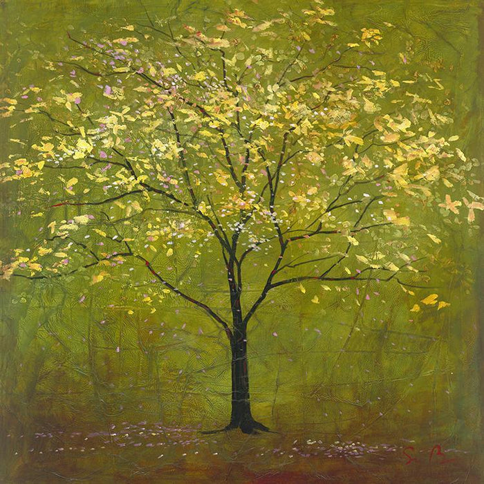 "Forest Green 8"" x 8"" Canvas by Simon Bull - Simon Bull Studios - The Shops at Mount Vernon"