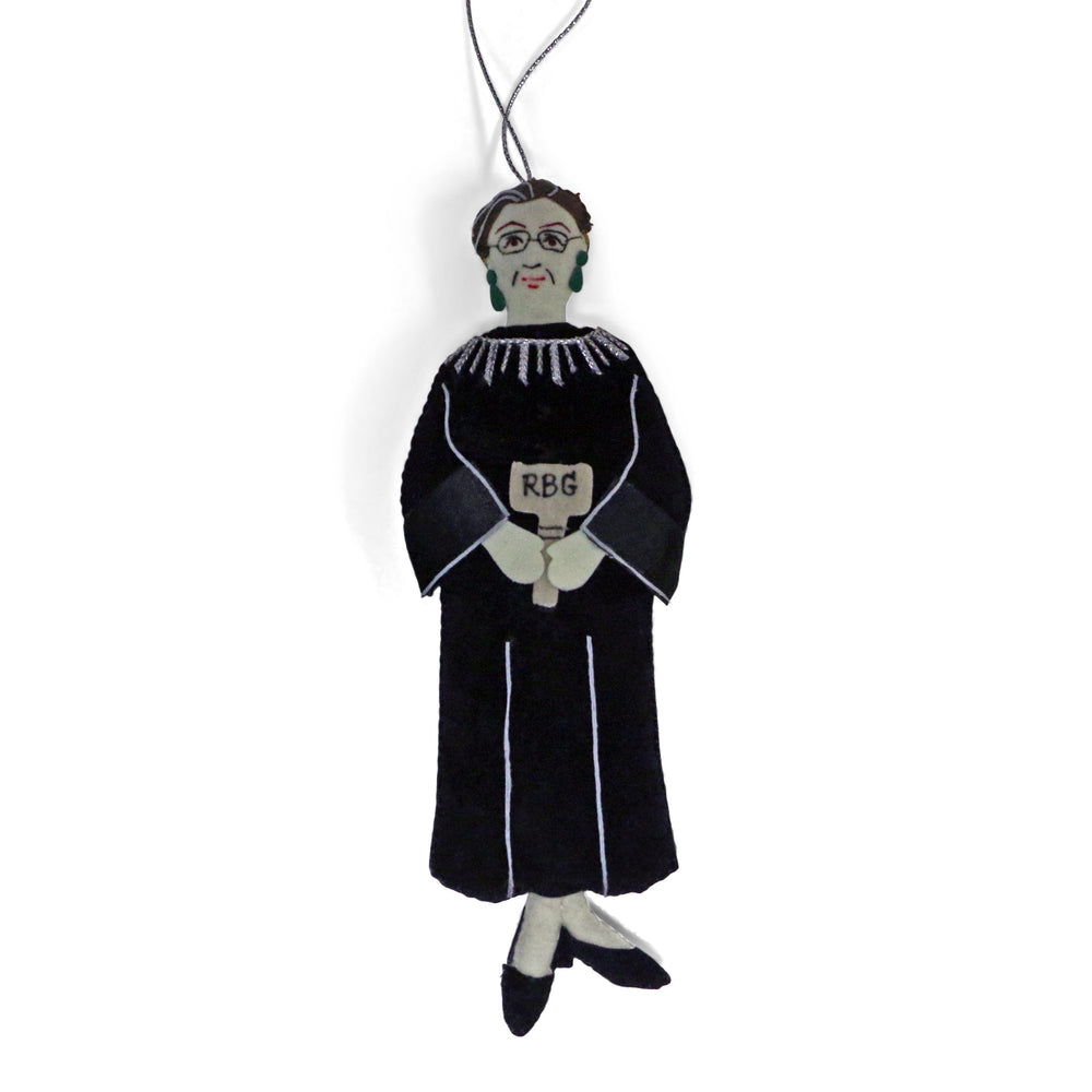 Ruth Bader Ginsburg Ornament - ST NICOLAS LTD. - The Shops at Mount Vernon