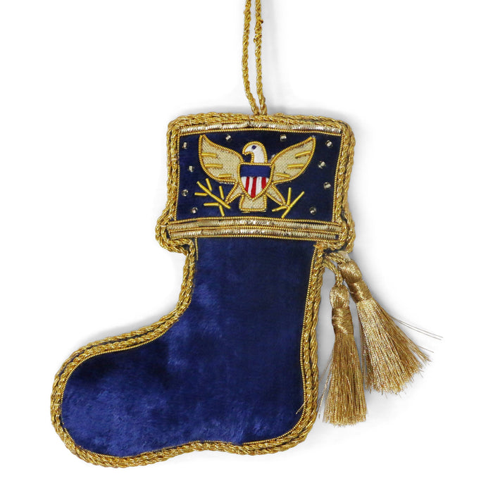 Eagle Stocking Ornament - ST NICOLAS LTD. - The Shops at Mount Vernon