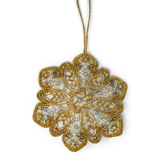 Mount Vernon Snowflake Ornament - ST NICOLAS LTD. - The Shops at Mount Vernon