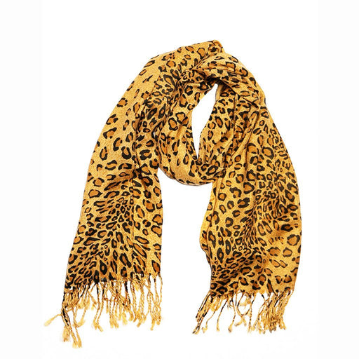 Leopard Print Long Scarf - TOP IT OFF - The Shops at Mount Vernon