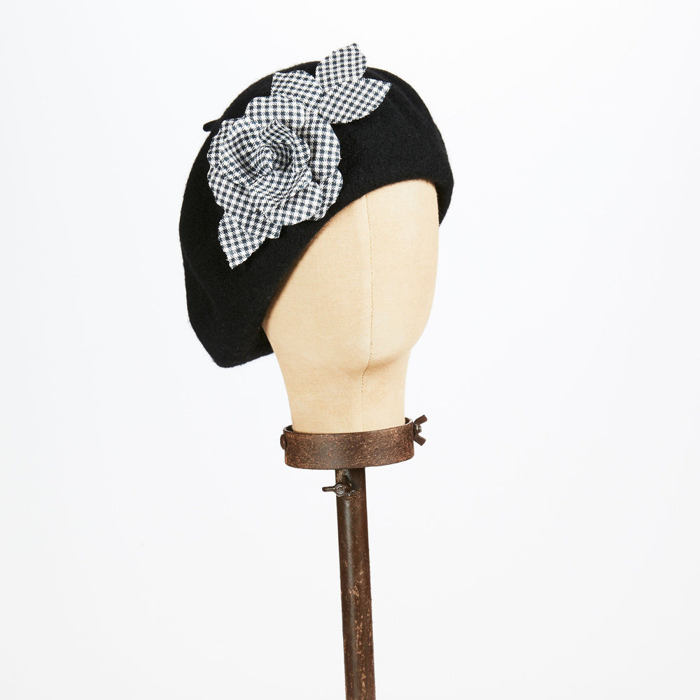 Black Beret - Kathy Jeanne Inc - The Shops at Mount Vernon