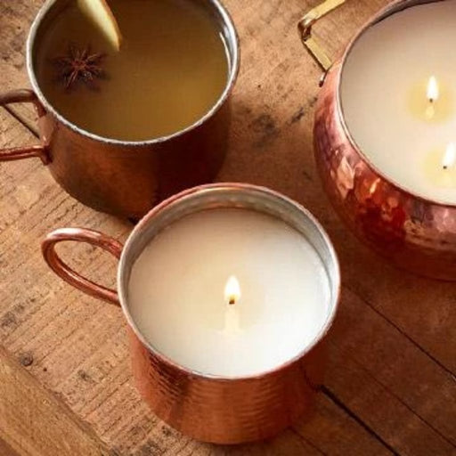 Simmered Cider Mug Candle - Thymes - The Shops at Mount Vernon
