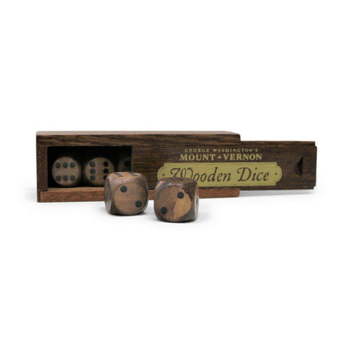 Wooden Dice Set - DESIGN MASTER ASSOCIATES - The Shops at Mount Vernon