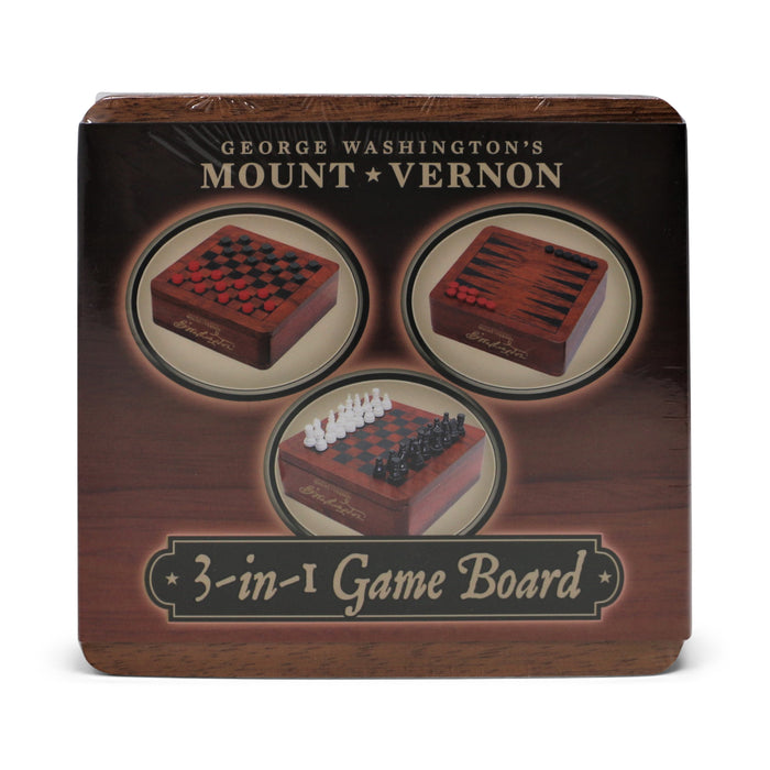 Mount Vernon 3-in-1 Game Set - DESIGN MASTER ASSOCIATES - The Shops at Mount Vernon