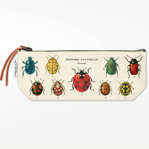 Insects Mini Pouch - Cavallini Papers & Co. Inc - The Shops at Mount Vernon