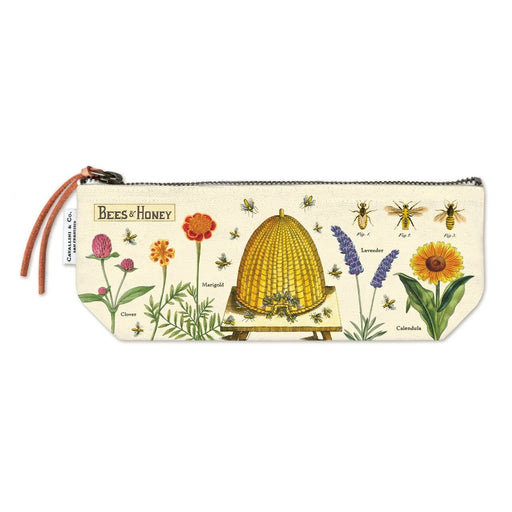 Bees & Honey Mini Pouch - Cavallini Papers & Co. Inc - The Shops at Mount Vernon