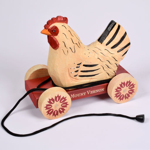 Chicken Wooden Decorative Pull Toy - DESIGN MASTER ASSOCIATES - The Shops at Mount Vernon
