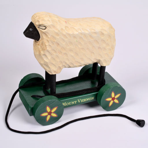 Sheep Wooden Decorative Pull Toy - DESIGN MASTER ASSOCIATES - The Shops at Mount Vernon