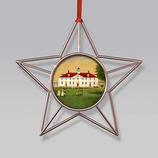 MV 1792 Wire Star Ornament - DESIGN MASTER ASSOCIATES - The Shops at Mount Vernon
