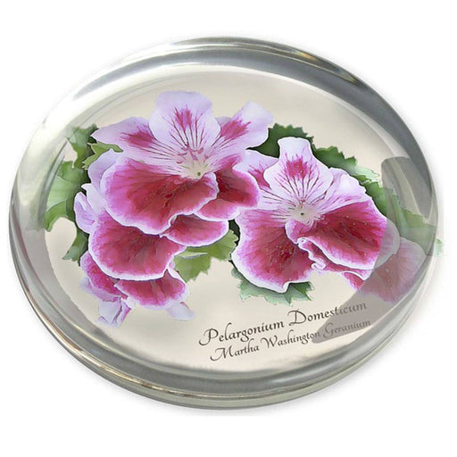Geranium Paperweight - DESIGN MASTER ASSOCIATES - The Shops at Mount Vernon