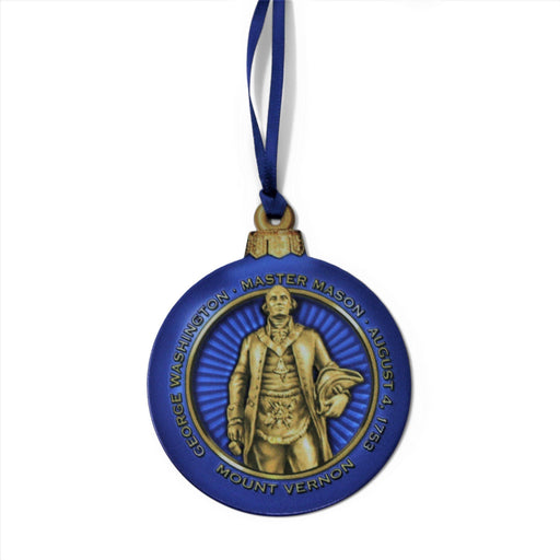 GW Masonic Ornament - DESIGN MASTER ASSOCIATES - The Shops at Mount Vernon