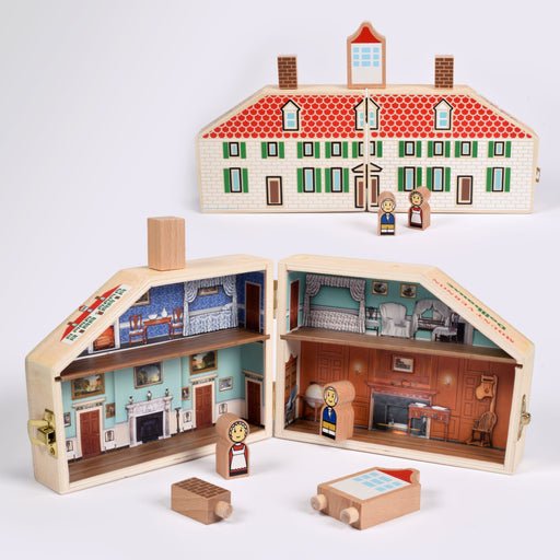 Mini Mansion Wooden Doll House - DESIGN MASTER ASSOCIATES - The Shops at Mount Vernon