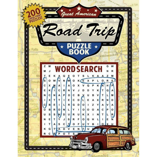 Great American Road Trip Puzzle Book - APPLEWOOD BOOKS - The Shops at Mount Vernon