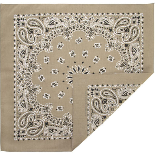 Natural Bandana - CHARLES PRODUCTS INC. - The Shops at Mount Vernon