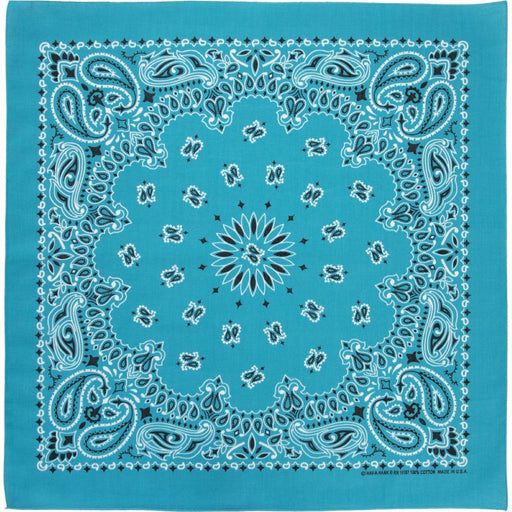 Light Blue Bandana - CHARLES PRODUCTS INC. - The Shops at Mount Vernon