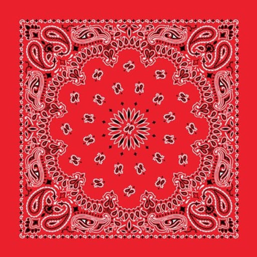Red Bandana - CHARLES PRODUCTS INC. - The Shops at Mount Vernon