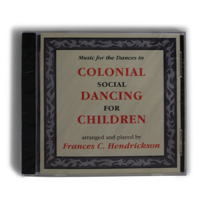 Colonial Social Dancing - Book and CD Set - DAVID & GINGER HILDEBRAND - The Shops at Mount Vernon