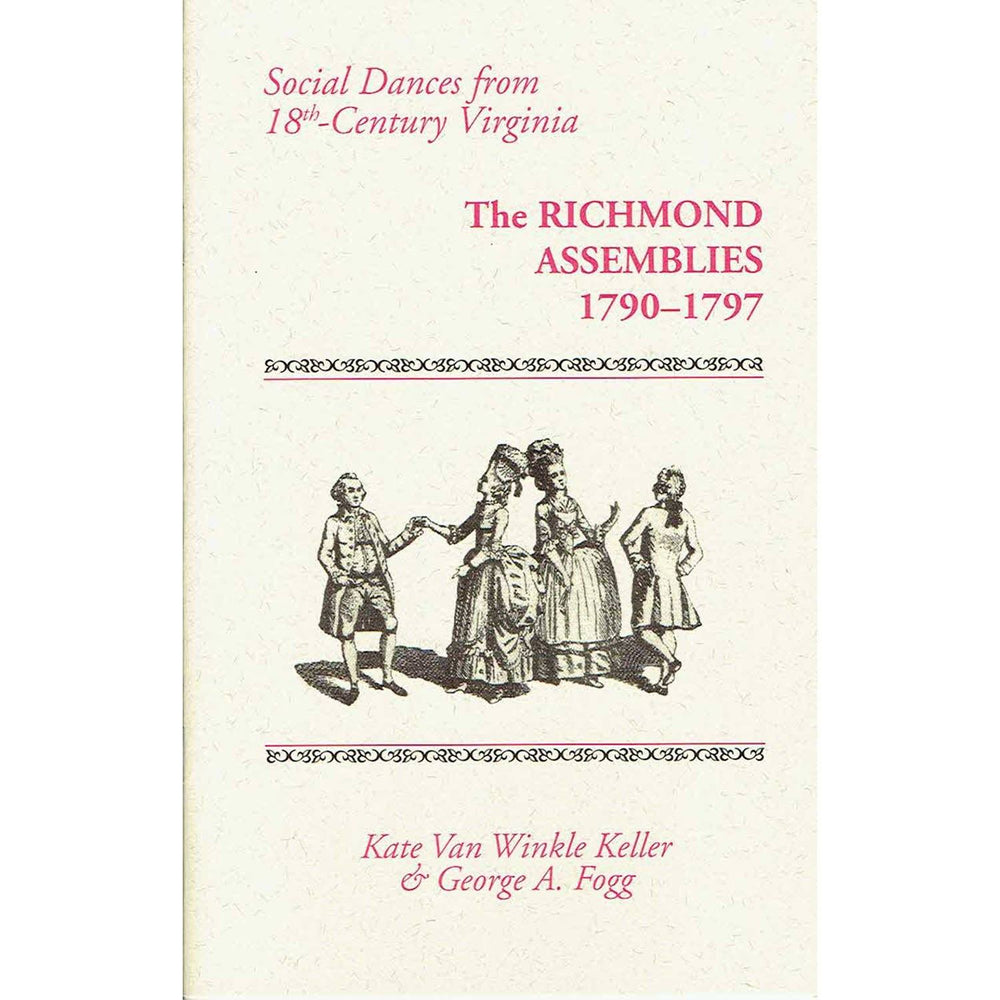 Songbook - The Richmond Assemblies, 1790-1797 - DAVID & GINGER HILDEBRAND - The Shops at Mount Vernon