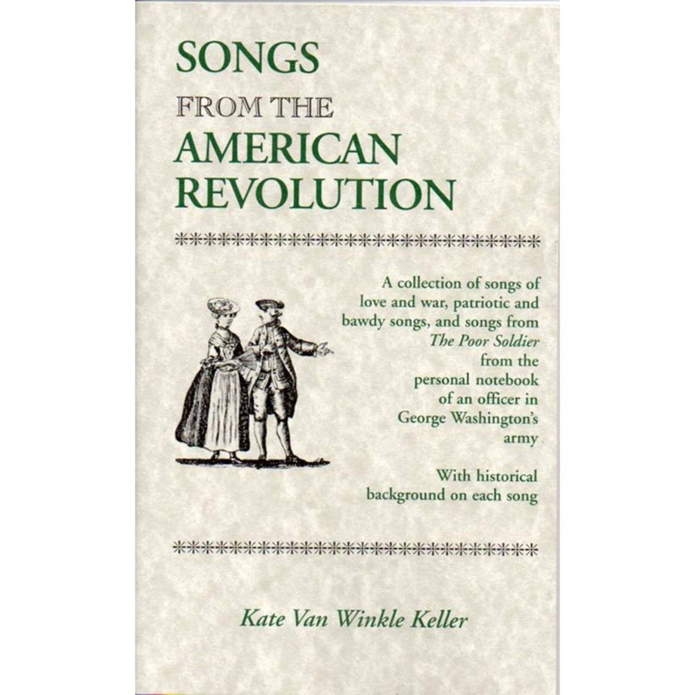 Songbook from the American Revolution - DAVID & GINGER HILDEBRAND - The Shops at Mount Vernon
