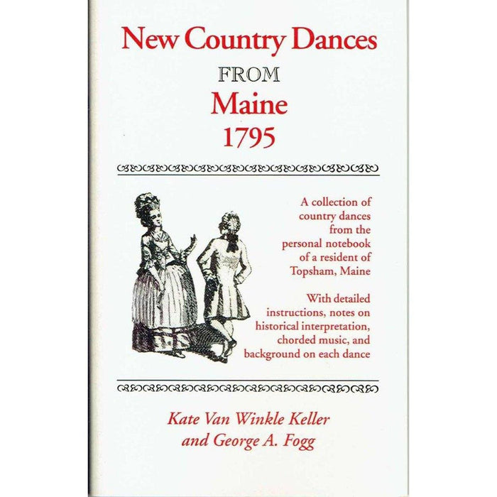 Songbook - New Country Dances from Maine (1795) - DAVID & GINGER HILDEBRAND - The Shops at Mount Vernon