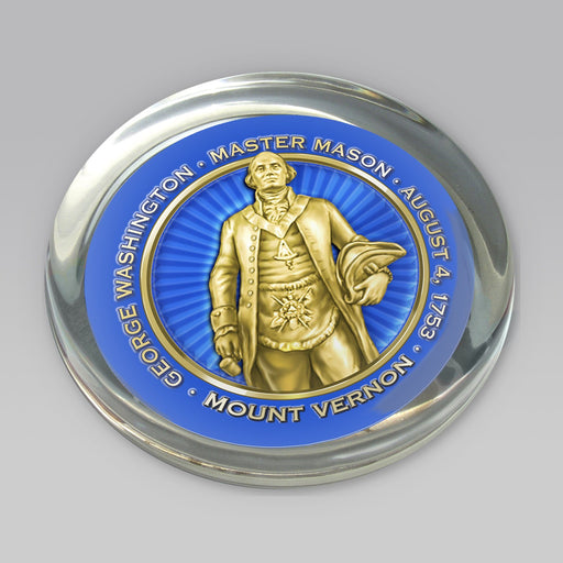 GW The Mason Paperweight - DESIGN MASTER ASSOCIATES - The Shops at Mount Vernon