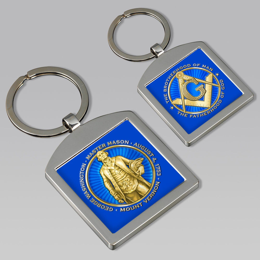 Masonic Key Chain - DESIGN MASTER ASSOCIATES - The Shops at Mount Vernon