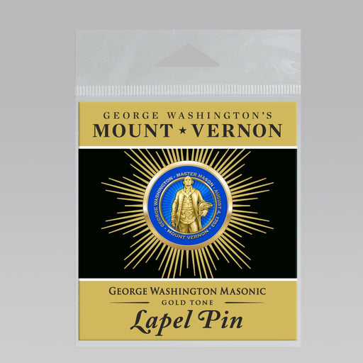 GW Masonic Lapel Pin - DESIGN MASTER ASSOCIATES - The Shops at Mount Vernon