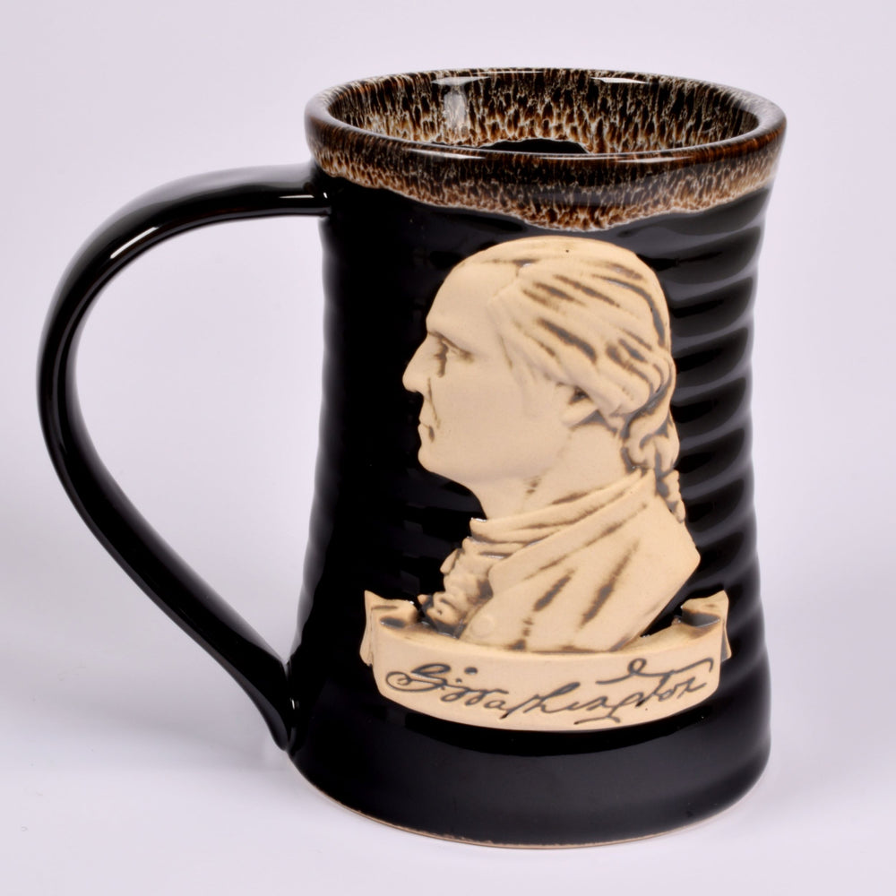Black GW Artisan Mug - DESIGN MASTER ASSOCIATES - The Shops at Mount Vernon