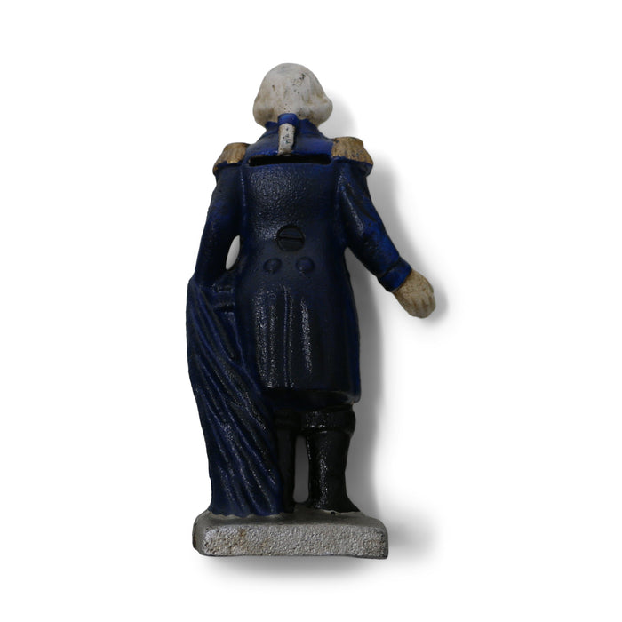 GW Cast Iron Coin Bank - DESIGN MASTER ASSOCIATES - The Shops at Mount Vernon