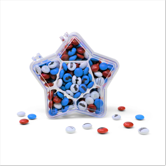 Mount Vernon Patriotic M&M's® Star Candy Box - Ethel M/ Mars Wrigley - The Shops at Mount Vernon