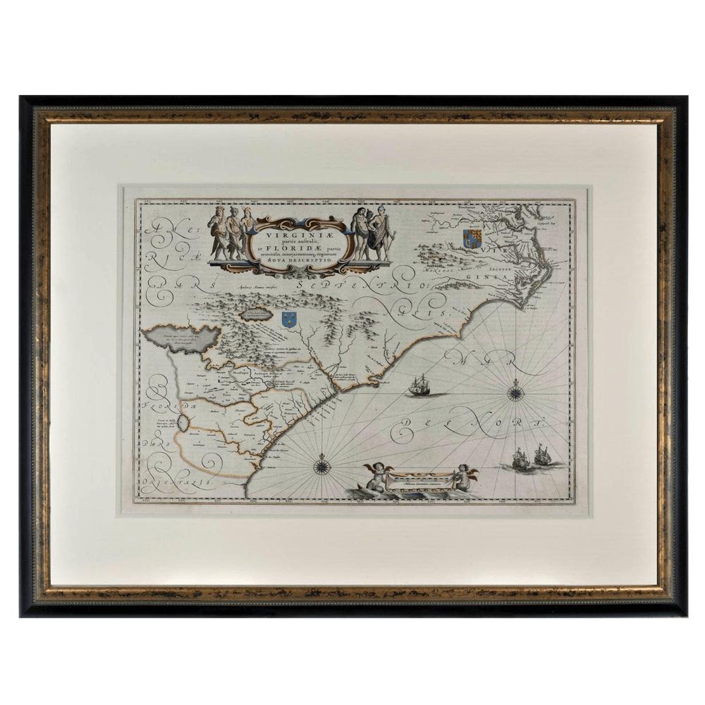 Jansson Map - Rick Badwey-Frameabilia - The Shops at Mount Vernon