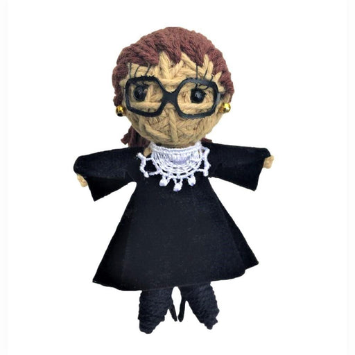 RBG String Doll Keychain - KAMIBASHI ASIAN ART - The Shops at Mount Vernon