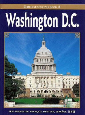 Washington, D.C. Souvenir Book in 5 Languages