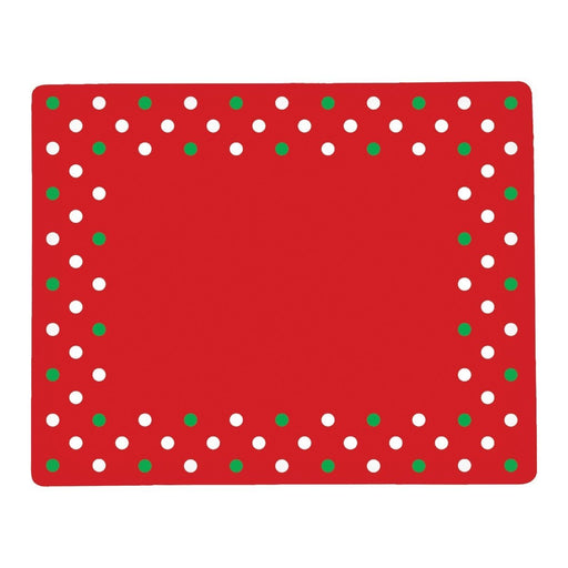 Xmas Polka Dots Placemat - C & F ENTERPRISE - The Shops at Mount Vernon
