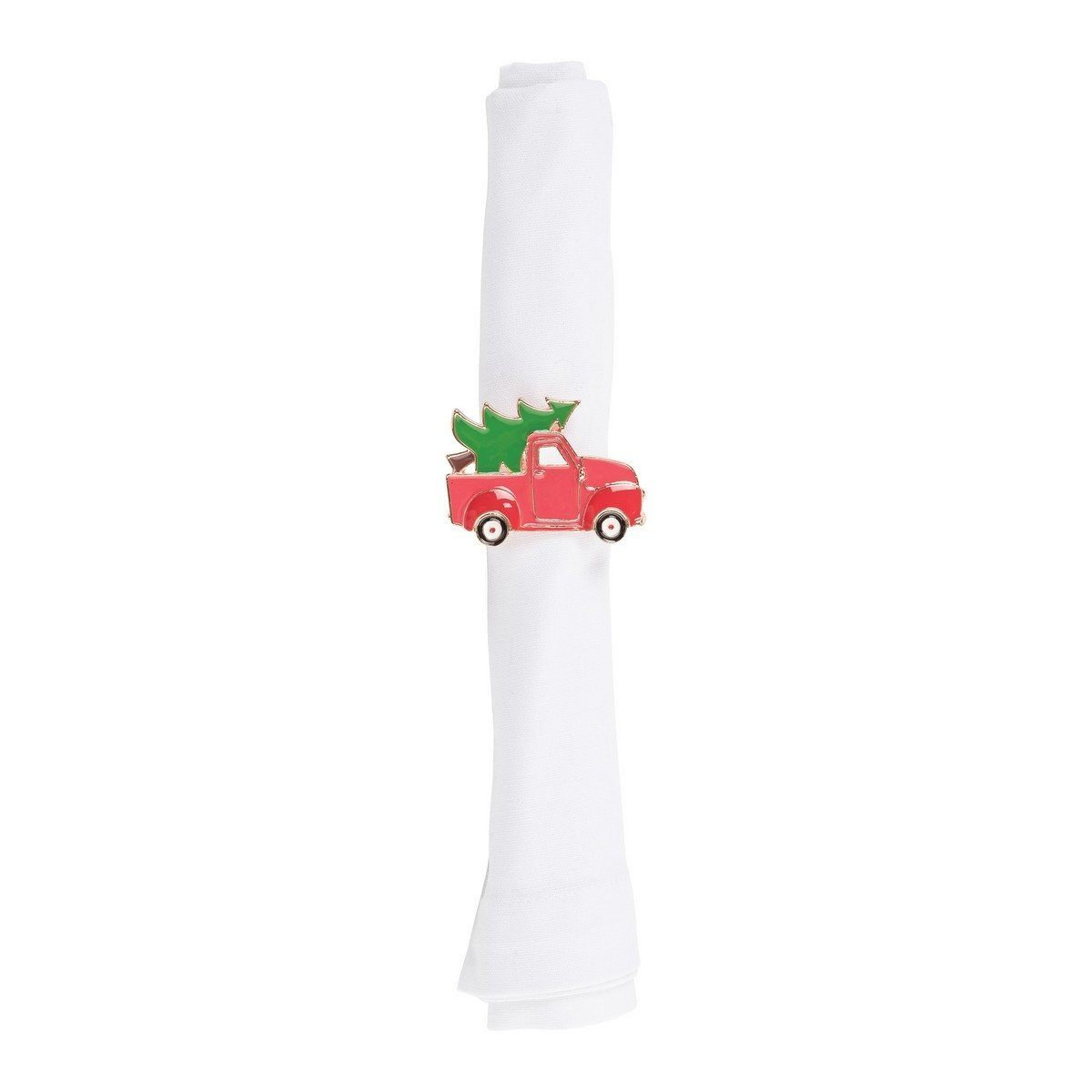 Red Truck Xmas Tree Napkin Ring The Shops At Mount Vernon