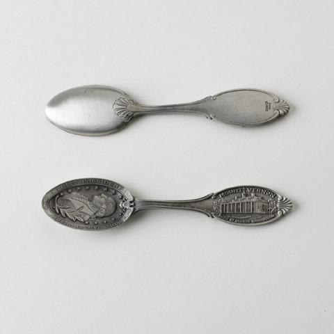 Mount Vernon Commemorative Antiqued Spoon - The Shops at Mount Vernon - The Shops at Mount Vernon