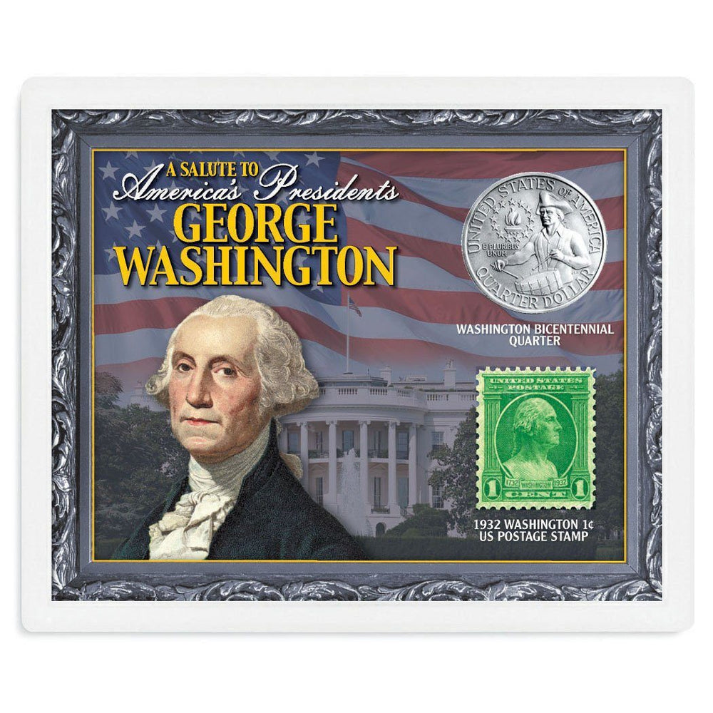 A Salute to America's Presidents - Unified Precious Metals, Inc. - The Shops at Mount Vernon