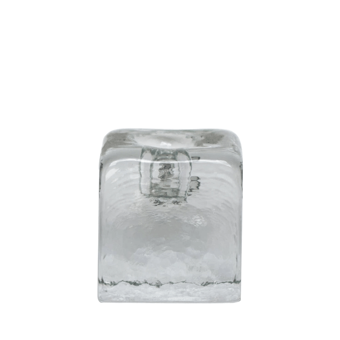 Crystal Small Candle Holder - BLENKO GLASS COMPANY - The Shops at Mount Vernon