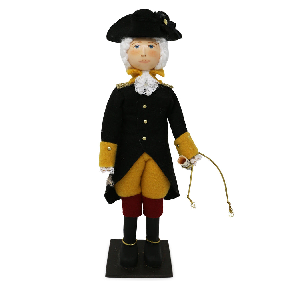 George Washington Wooden Doll - The Shops at Mount Vernon - The Shops at Mount Vernon