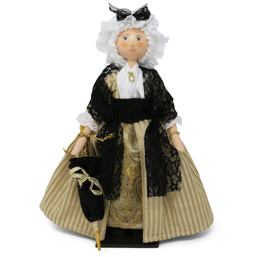 Martha Washington Wooden Doll