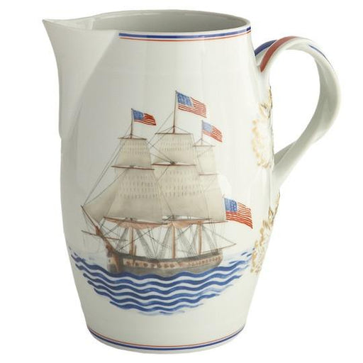 American Ship Constitution Open Cider Jug - MOTTAHEDEH & COMPANY, INC - The Shops at Mount Vernon