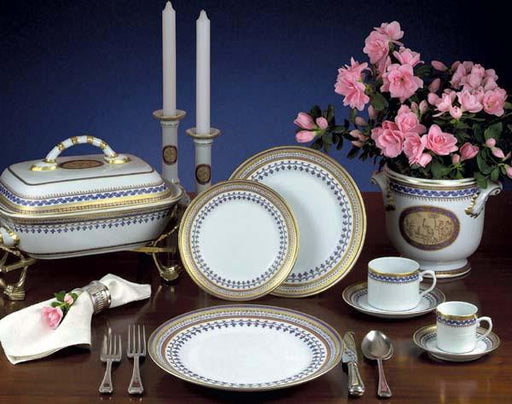 Chinoise Blue 5-piece Place Setting - MOTTAHEDEH & COMPANY, INC - The Shops at Mount Vernon