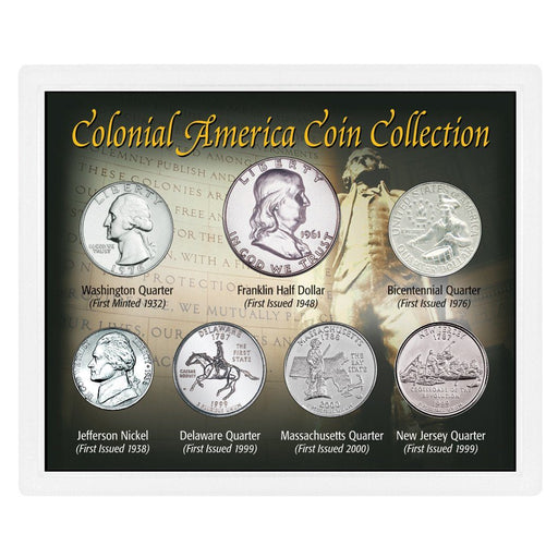 Colonial America Coin Collection - The Shops at Mount Vernon - The Shops at Mount Vernon
