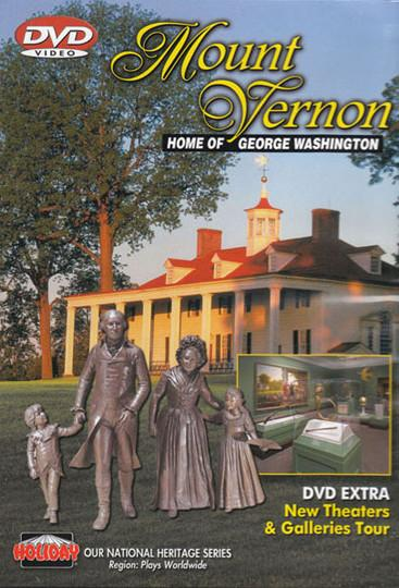 Mount Vernon: Home of George Washington DVD - The Shops at Mount Vernon - The Shops at Mount Vernon