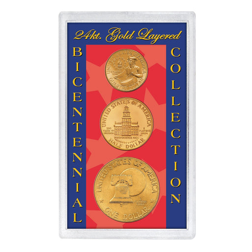 24kt Gold Layered Bicentennial Collection - Unified Precious Metals, Inc. - The Shops at Mount Vernon