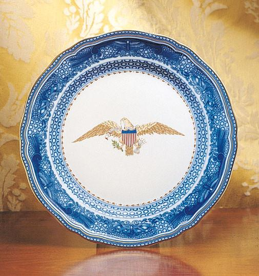 Diplomatic Eagle Plate By Mottahedeh The Shops At Mount