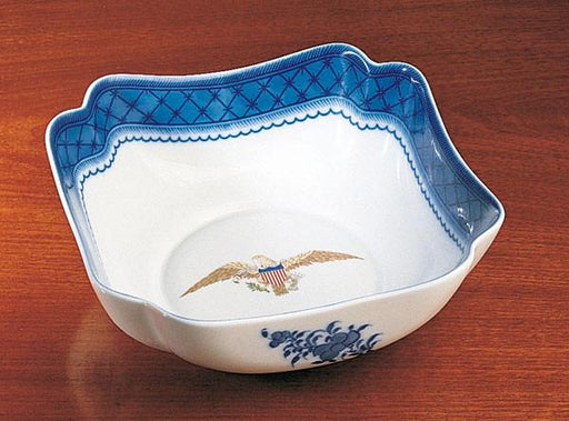 Diplomatic Eagle Square Bowl - MOTTAHEDEH & COMPANY, INC - The Shops at Mount Vernon